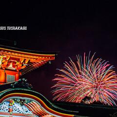花火大会/花火/山口県/神社/防府天満宮/令和の一枚/... 08月05日は防府天満宮の花火大会でした!
