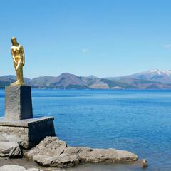 令和元年フォト投稿キャンペーン/令和の一枚/おでかけワンショット/はじめてフォト投稿/旅行/風景/... 田沢湖にて📷 鮮やかなブルーの湖が綺麗で…