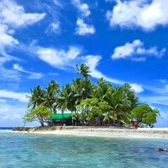 島/ジープ島/カメハウス/海/空/ミクロネシア連邦/... わたしのお気に入りの島☆ ミクロネシア連…
