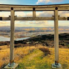 鳥居/神社/海/絶景/わたしのお気に入り/おでかけワンショット/... 北海道に道南地区にある鳥居☆ 絶景の場所…