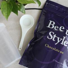 Bee up Style Chocolate風味 | Bee up Style(ソイプロテイン)を使ったクチコミ「初プロテイン♡ たんぱく質を補給できるだ…」