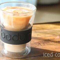 bodum/お気に入りアイテム/水出しコーヒー/Coffee/至福のひととき/はじめてフォト投稿 暑い時には、やっぱりアイスコーヒー!  …