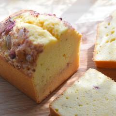 桜スイーツ/お菓子作り/パウンドケーキ/手作りお菓子 桜パウンドケーキ   春が来たら 桜スイ…