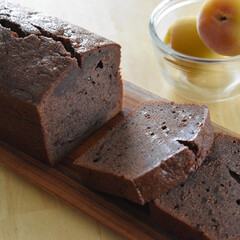 梅ジャム/お菓子作り/パウンドケーキ ショコラパウンドケーキ   少し前に買っ…