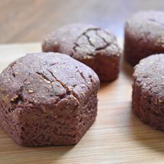 スコーン/お菓子作り/手作りお菓子/黒糖/紫芋 紫イモ白ゴマ黒糖スコーン   白ゴマどっ…