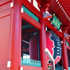 コンテスト参加/旅の風景/東京観光/五重塔/雷門/浅草寺/... ✳︎浅草寺✳︎  滅多に人の多いところに…