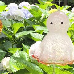 紫陽花/夏/風鈴/おでかけワンショット 様々な風鈴が可愛かったです。