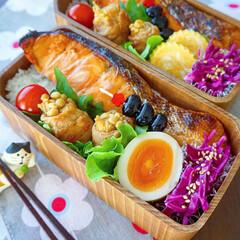 令和元年フォト投稿キャンペーン/お弁当/至福のひととき/おやつタイム/LIMIAスイーツ愛好会/LIMIAごはんクラブ/... 鮭の西京焼き弁当  🌟今日のお弁当 🌟…(1枚目)