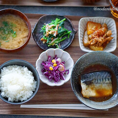 暮らし 4/19(日)  鯖の味噌煮定食  …(4枚目)