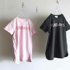 ファッション 『Sunday』の曜日ロゴがかわいいtシ…