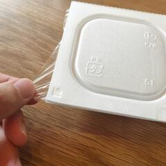 納豆ごはん/納豆の日/納豆/暮らし/簡単/ラク家事 納豆を食べる時のプチストレス。  開封す…