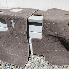ウタマロ石けん | ウタマロ(固形洗剤)を使ったクチコミ「きょうはあちこちお掃除DAY!  車のフ…」