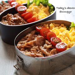 今日のお弁当/わたしのごはん/お弁当/LIMIAごはんクラブ/おうちごはんクラブ 7/16(火) 今日のお弁当 豚ロースの…(1枚目)