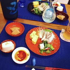 減塩/雨季ウキフォト投稿キャンペーン/令和の一枚/フォロー大歓迎/LIMIAファンクラブ/至福のひととき/... 京都で出会った漆器の菊皿をやっと使用😊 …