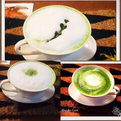 手作り/抹茶/抹茶ラテ/LIMIAごはんクラブ/フォロー大歓迎/スイーツ 抹茶ラテ🎶 味は美味しい🙆♀️  ペー…