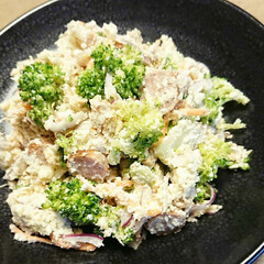 ヘルシーレシピ/サラダ/おから/野菜料理/旬/創作料理/... 【🥦ブロッコリーの和風おからサラダ🥦】 …