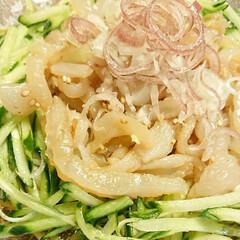 きゅうり/中華クラゲ/野菜料理/和え物/クラゲ/中華/... 【🥒👾中華クラゲ👾🥒】  塩蔵クラゲはた…(2枚目)