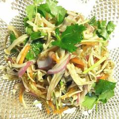 野菜料理/副菜レシピ/晩ごはん/晩酌/手料理/家庭料理/... 【☘️三つ葉とえのきのとろろ和え☘️】 …(1枚目)