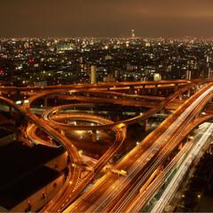 フォロー大歓迎/至福のひととき/LIMIAおでかけ部/おでかけ/風景 いつぞやの東大阪市役所からの夜景‥ 写真…(1枚目)