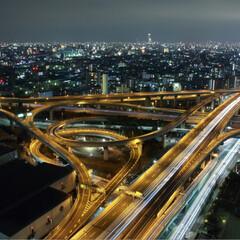 フォロー大歓迎/至福のひととき/LIMIAおでかけ部/おでかけ/風景 いつぞやの東大阪市役所からの夜景‥ 写真…(2枚目)