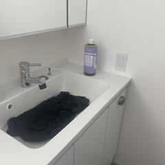 マジックソープ ラベンダー 946ml リラックスするラベンダーの香り | ドクターブロナー(ボディソープ)を使ったクチコミ「冬も終わったので、ダウンを洗いました。 …」