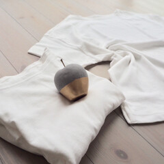 Tシャツ/私服の制服化/無印良品 新しいマイ定番服(^^)見つけました! …