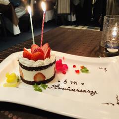 わたしのごはん/エスカーレホテルモントレ/たまには贅沢 記念日のディナーで(^^)