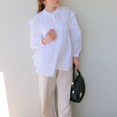 fashion/code/ファッション/コーデ/ZARA/ブラウス/... 毎年買い足してるzaraのブラウス  今…