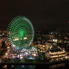 横浜/観覧車/みんなにおすすめ/令和元年フォト投稿キャンペーン/はじめてフォト投稿/おでかけ/... 横浜ベイホテル東急からの景色。 ほんとに…
