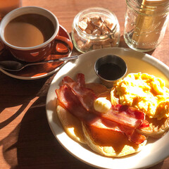 Coffee/Cafe/コーヒー/パンケーキ/あさごはん/朝ごはん/... WEST WOOD BAKERS ウエス…