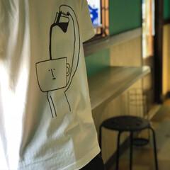 ティシャツ/ゆるい/ユルい/ゆるかわ/ゆるきゃら/ゆるキャラ/... eikura_illust 昨日の写真で…(2枚目)