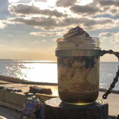 コーヒースタンド/コーヒー/カフェ/海好き/海/沖縄/... 沖縄のアメリカンヴィレッジにある、ジバゴ…