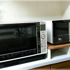 DIY/100均/セリア/ダイソー/キッチン アイリスオーヤマの食パン4枚焼けるオーブ…(1枚目)
