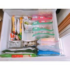 白元 アイスノン アイスノンソフト(制汗、デオドラント剤)を使ったクチコミ「冷凍庫収納  冷凍庫のお肉はジッパー袋を…」