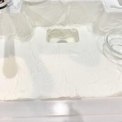 オキシクリーン EX | グラフィコ(漂白剤)を使ったクチコミ「久しぶりにキッチンシンクのオキシパックを…」