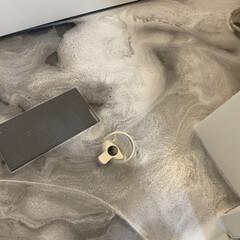 日本初上陸 3,500万本販売 無添加 あの洗剤 除菌 漂白 消臭 700g 多目的洗剤 粉末 4種の酵素 重曹 クエン酸 LOHA(粉末洗剤)を使ったクチコミ「最近水垢なのか、浴室床に白い部分を発見。…」(1枚目)