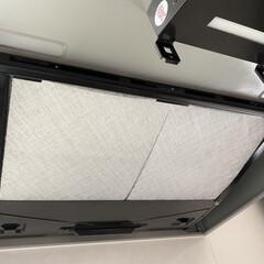 換気扇フィルター レンジフードフィルター 交換用フィルター6枚 297×350mm枠用 スターフィルター 新生活(換気扇カバー、フィルター)を使ったクチコミ「レンジフードはスターフィルターを定期購入…」(1枚目)
