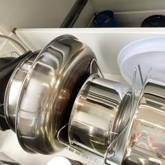 T-fal インジニオ ネオ IHステンレス エクセレンスセット9 ティファール   ティファール(圧力鍋)を使ったクチコミ「入居時にそろえたティファール ステンレス…」(1枚目)