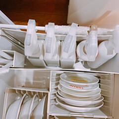 キッチン収納/掃除/無印良品 無印良品のファイルボックス使い道が多くて…(1枚目)