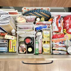 ■キューピー マヨネーズ 450g(その他調味料、料理の素、油)を使ったクチコミ「少し前に見直したカップボード収納のストッ…」