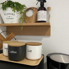 PASEO 鍋敷き 丸型 アカシア 37-03A(鍋敷き)を使ったクチコミ「木製鍋敷き。 可愛くてグリーンとも合いそ…」