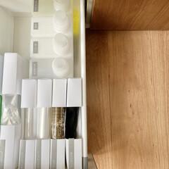 緑の魔女 オートキッチン | 緑の魔女(食洗器用洗剤)を使ったクチコミ「シンク下収納  ゴミ袋やジッパー袋を入れ…」