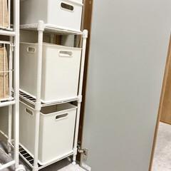 体重 体組成計 BC-768 WH | タニタ(体重計)を使ったクチコミ「階段下収納の中にはパイプスペースがあるこ…」(1枚目)