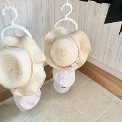 ダイソー/帽子/シューズクローゼット/帽子収納/暮らし/100均 前回、投稿したダイソーの帽子収納を実際に…