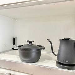 BALMUDA The Pot K02A-BK ブラック | BALMUDA(電気ケトル)を使ったクチコミ「とうとう炊飯器を手放し、ずっと圧力鍋でご…」