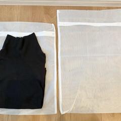 ランドリーグッズ/セリア/100均/暮らし 前回ポストしたセリアの洗濯ネット。 少し…