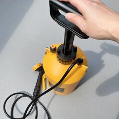 窓掃除/ベランダ掃除/掃除記録/掃除グッズ/タンク式洗浄機/ポンプ式水圧クリーナー 前に投稿したポンプ式水圧クリーナーは、ハ…