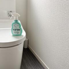 ウタマロクリーナー つめかえ | ウタマロ(その他洗剤)を使ったクチコミ「トイレで使用することも多いウタマロクリー…」(1枚目)