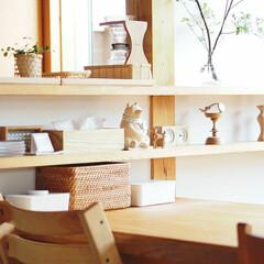 ウエットティッシュケース おしりふきケース 詰替 出産祝い まとめ買い #SALE_BO | サラサデザイン(おしりふきケース)を使ったクチコミ「我が家のリビング棚。  しろくま貯金箱は…」