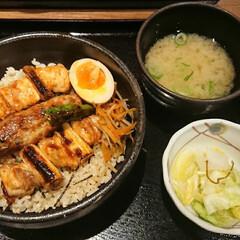 みんなにおすすめ 東京駅で食べた焼き鳥丼❗とっても美味しか…